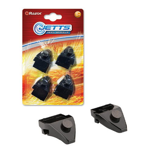 Razor Jetts Sparking Heel Wheels Refill Replacement Cartridge 4 PCS Compatible With Razor Jetts and Jetts DLX Heel Wheels Ages 8 Years+