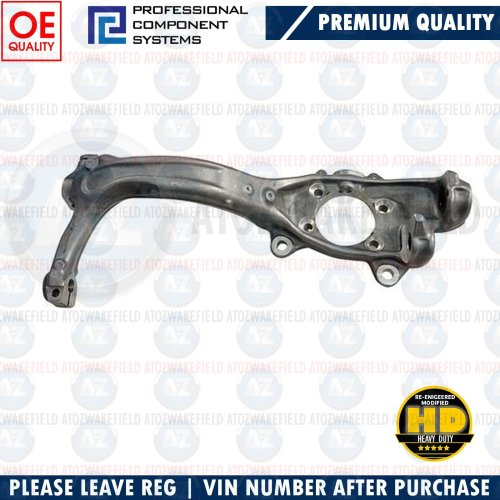 FOR AUDI A4 FRONT AXLE RIGHT RH STUB AXLE KNUCKLE HUB ASSEMBLY 8E0407254E