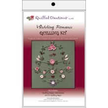 Quilled Creations Quilling Kit-Wedding Romance