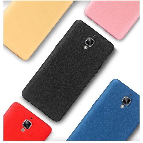 big sale 6aeef 1678c Deesos Oneplus 3T Case Oneplus 3 Case Ulta Slim Soft TPU Full Protection  Rock Sand Comfortable Feeling Cover Case for Oneplus 3/3T Black