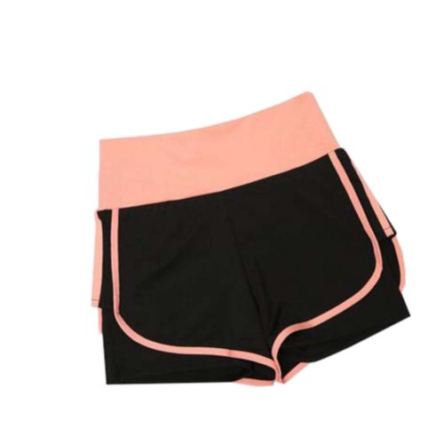 Women's Hot Elastic Waist Gym Pants Active Wear Lounge Shorts,#A 8