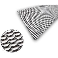 Universal Black Aluminium Racing Race Honeycomb Mesh Grill Spoiler 100 x 30cm