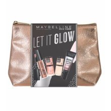 Maybelline Let it Glow Gift set - Lipstick, nail colors, highlighter