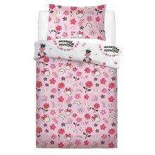 Minnie Mouse Floral Wink Single Duvet Cover