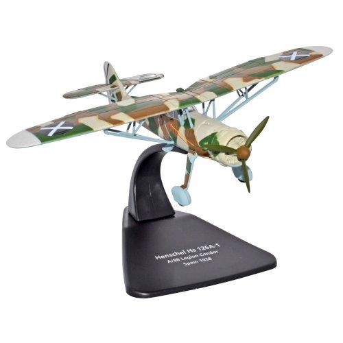 """Oxford Diecast """"Hs 126A-1 A88 Legion Condor Spain 1938"""" Vehicle"""