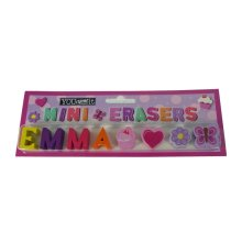 Childrens Mini Erasers - Emma