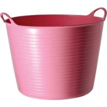 14l Pink Flexible Recycled Tub - Small Tubtrug Tubtrugs Bucket Buckets 14 -  flexible small tubtrug pink tubtrugs bucket buckets 14