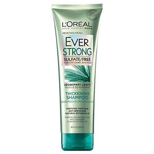 LOreal EverStrong Sulfate-Free Hair &amp Scalp System Thickening Shampoo 8.50 oz (Pack of 2)