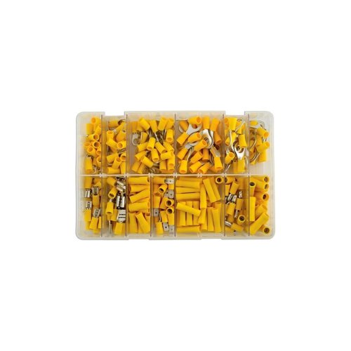 Wiring Connectors - Yellow - Assorted - Pack of 110