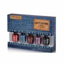 CND VINYLUX Craft Culture Collection Weekly Polish 5pc set