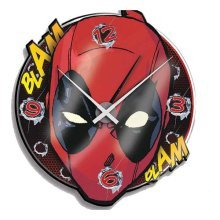 Marvel Comics Deadpool Wall Clock
