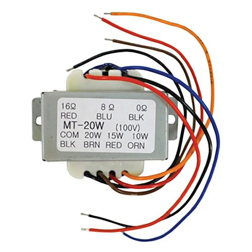 100V Line Transformer With 10  15  20W Tapings