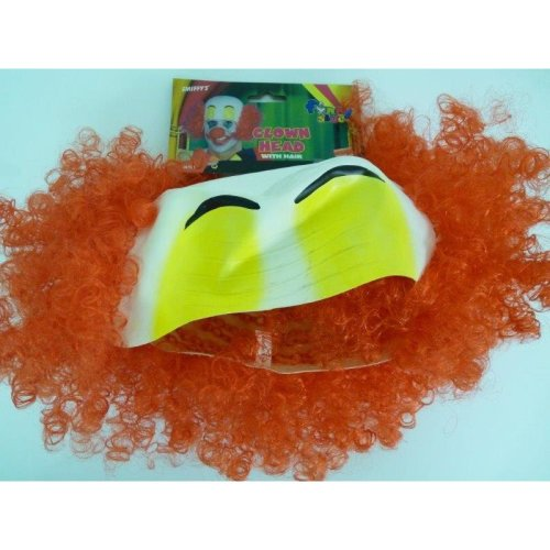 Adults Clown Rubber Top Wig
