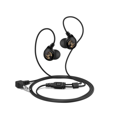 Sennheiser IE 60 Ear-Canal Headphones with Outstanding Bass Response for iOS