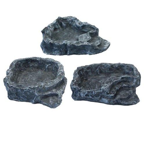 Komodo Terraced Dish - Grey