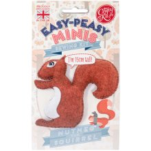 The Crafty Kit Co. Easy-Peasy Mini Sewing Kit-Nutmeg The Squirrel