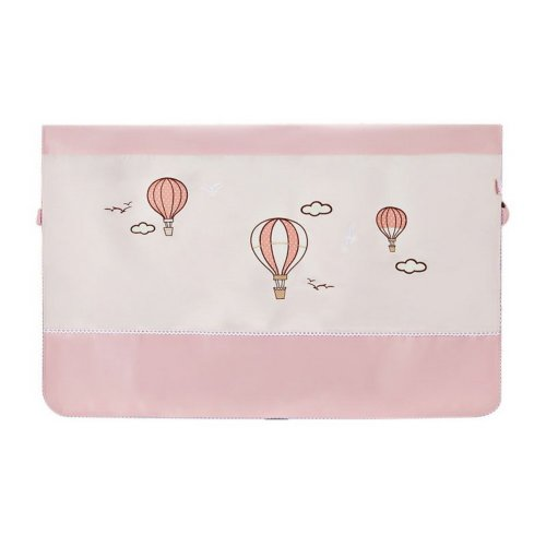 Home Creative 50-Inch TV Cloth Decorative Dustproof Cover, Pink Balloon