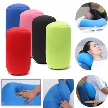 30x16cm Microbead Mini Cushie Roll Pillow Travel Office Rest Bedding Pillow