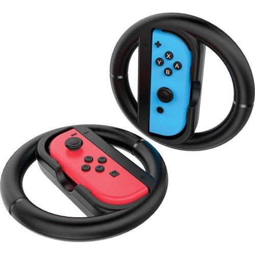 Venom Switch Racing Wheel Twin Pack Nintendo Switch