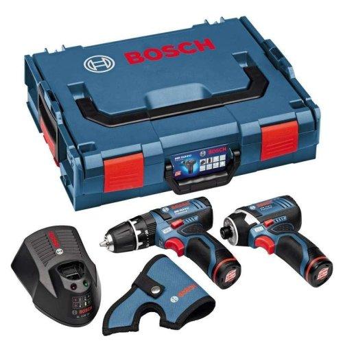 Bosch GSB12V-15 Combi Drill + GDR12V-105 Impact Driver Twinpack