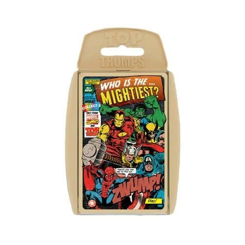 Top Trumps Special Travel Holiday Playing Game Marvel Comics Retro For Childrens Kids