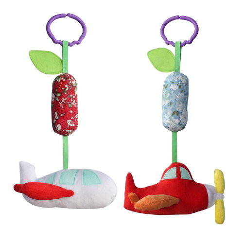2PCS, Handmade Decor Stroller Toys, [Airplane] Pretty Baby Gift