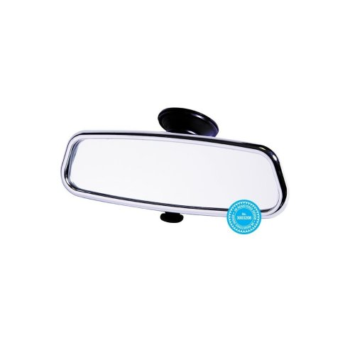 Rear View Suction Mirror - Chrome Effect - Dipping