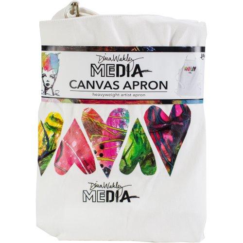 Dina Wakley Media Canvas Apron-