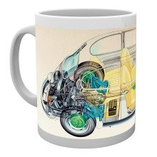Vw Camper Cross Section Mug