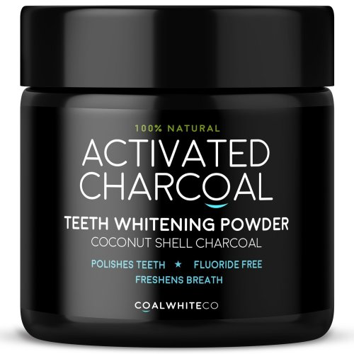 Activated Charcoal Natural Teeth Whitening Powder by Coal White®