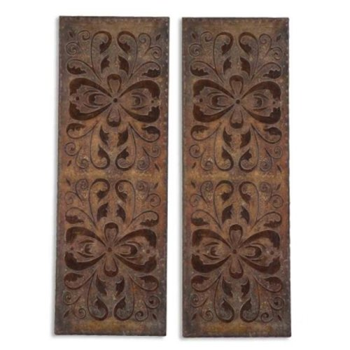 Uttermost 13643 Alexia Panels  Set of 2 - Mdf