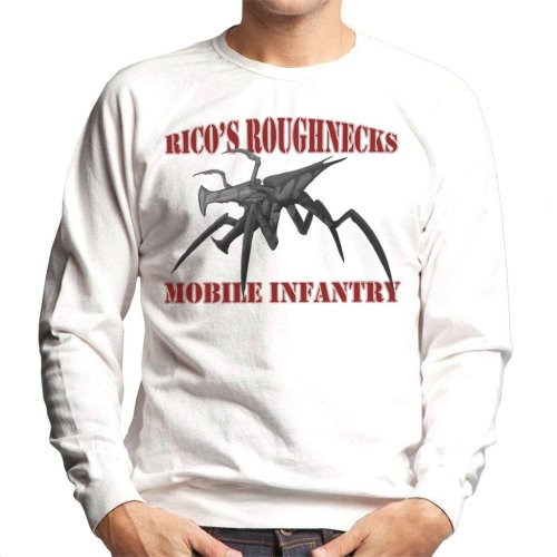 Ricos Roughnecks Arachnids Starship Troopers Men's Sweatshirt