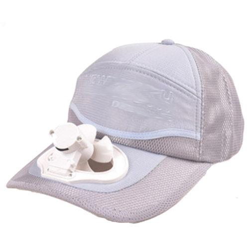 Summer Fan Hat with Fan Fishing Sun Visor Cap#Q