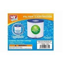 M.Y Splash 2 X Type D Universal Filter Replacement Cartridge Swimming Pool