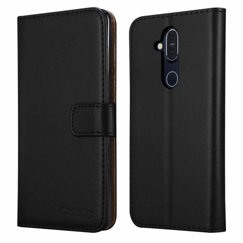 For Nokia 8.1 Wallet Book Leather Folio Case Cover