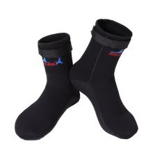 Mens Snorkeling Socks Black Scuba Diving 3MM Socks Protective Socks, US 8-9