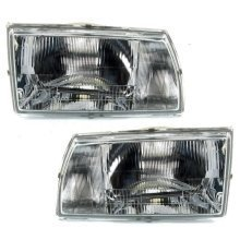 Citroen C15 1989-2001 Headlights Headlamps 1 Pair O/s & N/s