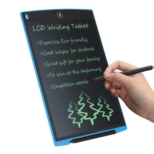 CHAOCHI LCD Writing Tablet 12 Inch Electronic Drawing Board Rewritten LCD Graphic Tablet with Stylus, Gift for School Students Kids Present for...