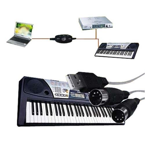 Digiflex USB to MIDI Keyboard PC Interface Converter Cable