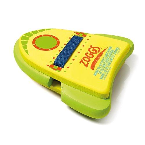 Zoggs Kids' Jet Pack 3-in-1 Kickboard and Backfloat, Learn to Swim Buoyancy Aid Float, Multi-Coloured, 2-6 Years