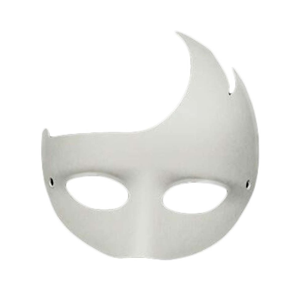 10 pcs white eye mask hand painted mask diy paper mask halloween