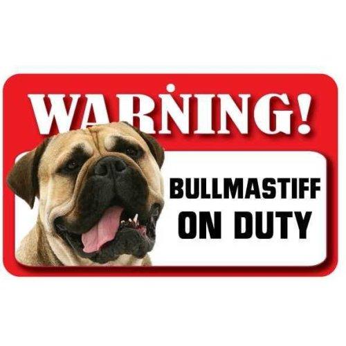 Bull Mastiff Pet Sign