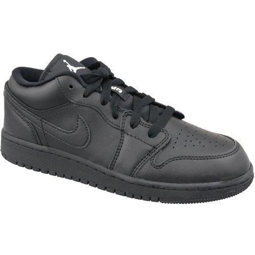 Jordan Air 1 Low Bg 553560-006 Kids Black sneakers Size: 3.5 UK
