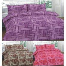 Jayce Printed Duvet Cover Bedding Set Single Double King Super King