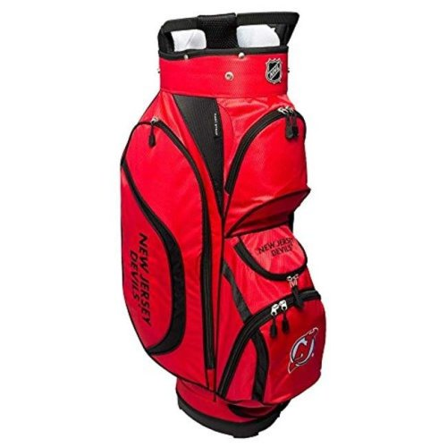Team Golf 14662 NHL New Jersey Devils Clubhouse Golf Cart Bag