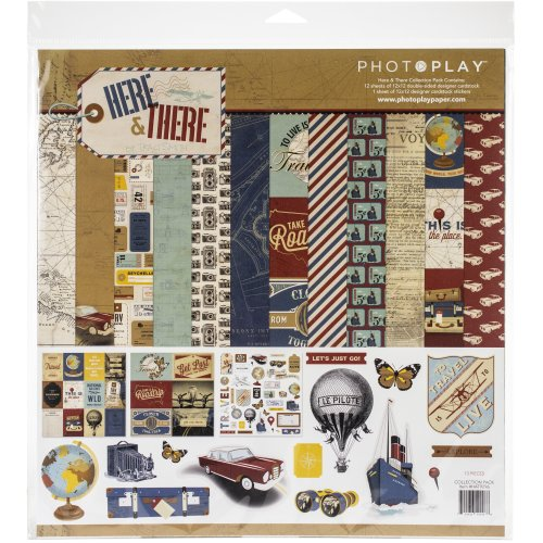 """Photoplay Collection Pack 12""""X12""""-Here & There"""