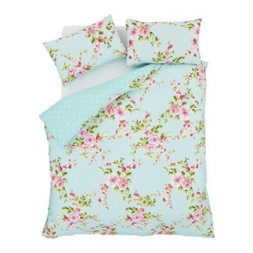 Single Floral Bedding Set By Catherine Lansfield Canterbury