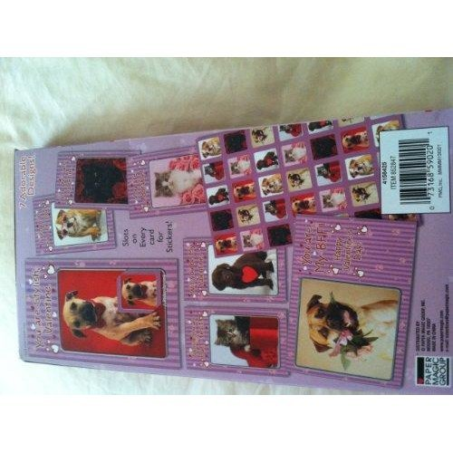 Rachael Hale 34 Valentines with 35 Stickers