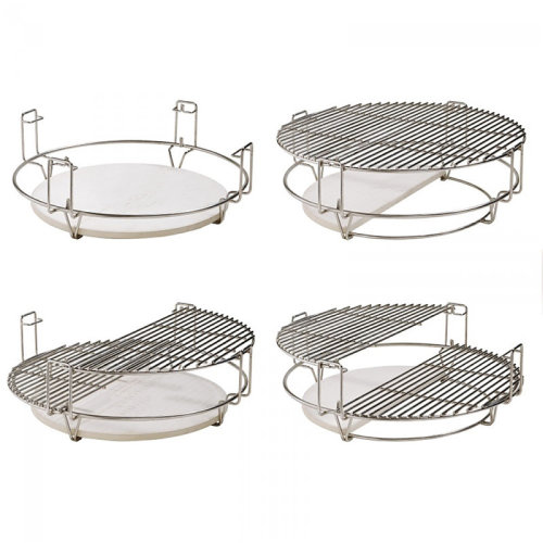 Nova - Divide & Conquer Cooking System for 21 inch Kamado BBQ Grill