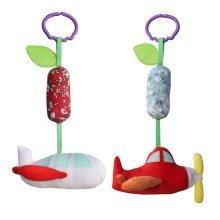 2PCS, Handmade Decor Stroller Toys, [Airplane] Pretty Baby Gift